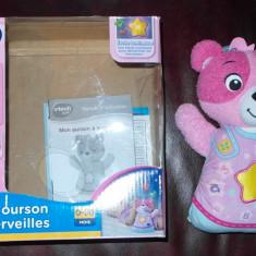 VTECH Mon ourson à merveilles rose