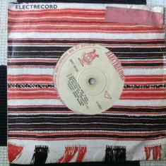 Petre bundis disc single vinyl muzica populara folclor romanesc electrecord, VINIL