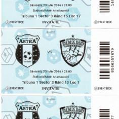 Bilet meci fotbal ASTRA GIURGIU-DINAMO BUCURESTI 23.07.2016