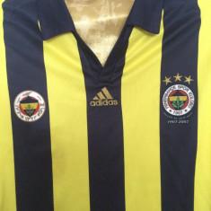 Tricou fotbal ADIDAS FENERBAHCE- TURCIA CAMPIONAT - Set echipament fotbal Adidas, Marime: XXL