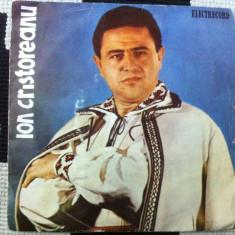 Ion cristoreanu disc single vinyl muzica populara folclor romanesc electrecord, VINIL