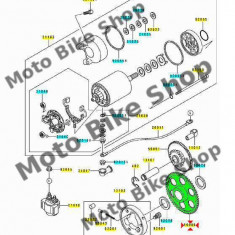 MBS Pinion cuplaj pornire Kawasaki, Cod Produs: 160851030KA - Pinioane Moto