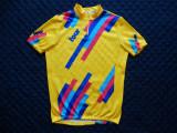 Tricou ciclism vintage Blacky Tour Switzerland Made in Italy; XXL, vezi dim., Tricouri