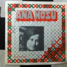 ana hosu disc single vinyl muzica populara romaneasca folclor armatura zalau