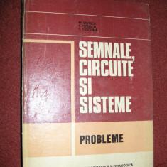 Semnale, circuite si sisteme - Probleme - M.Savescu , T.Petrescu , S.Ciochina