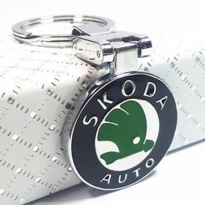 Breloc auto pentru Skoda metal + ambalaj cadou foto