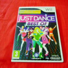 Joc Just Dance best Of, pentru Wii, original, PAL - Jocuri WII Ubisoft, Simulatoare, 3+, Single player
