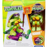Jucarie Mega Bloks Teenage Mutant Ninja Turtles Half-Shell Heroes Donnie With Skateboard