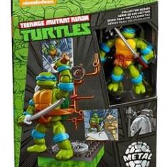 Jucarie Mega Bloks Teenage Mutant Ninja Turtles Collectors 1987 Classic Leonardo - Vehicul