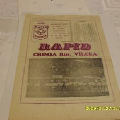 Program Rapid - Chimia Rm Valcea - Program meci