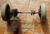 Motor electric 24V cu axa si  reductor