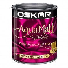 Vopsea acrilica Oskar Aqua Matt Ocru unicat 0.6l