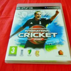 Joc International Cricket 2010, PS3, original, alte sute de jocuri! - Jocuri PS3 Codemasters, Sporturi, 3+, Multiplayer