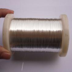 Sârmă de argint 99, 999% de 0.20mm - 1 metru - Accesoriu tigara electronica