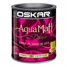 Vopsea acrilica Oskar Aqua Matt Verde exotic 0.6l