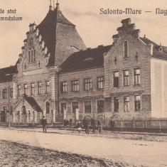 SALONTA MARE, LICEUL DE STAT - Carte Postala Crisana dupa 1918, Necirculata, Printata