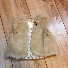 Vesta blana Zara baby, Marime: Alta, Culoare: Din imagine