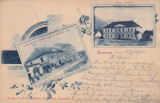 ZARNESTI BRASOV JUDECATORIE DISTRICTUALA SI HOTELUL NOU SCOALA ROMANA  CIRC.1902