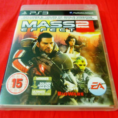 Joc Mass Effect 2, PS3, original, alte sute de jocuri! - Jocuri PS3 Ea Games, Shooting, 16+, Single player