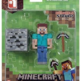 Set 2 Figurine Minecraft 3-Inch Steve Action Figure