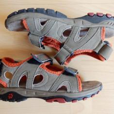Sandale Jack Wolfskin, piele naturala; marime 30 (18.8 cm talpic interior) - Sandale copii Jack Wolfskin, Culoare: Din imagine, Baieti