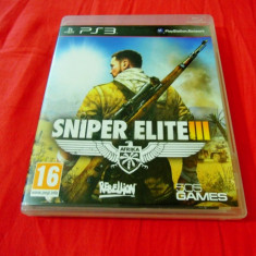 Joc Sniper Elite III, PS3, original, alte sute de jocuri! - Jocuri PS3 Altele, Shooting, 18+, Single player