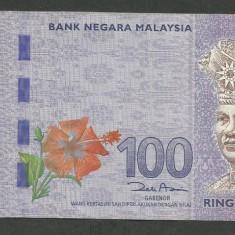 MALAEZIA MALAYSIA MALAESIA 100 RINGGIT 2011 [2] VF+, P-55 - bancnota asia