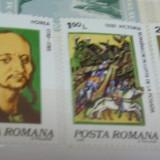 "Serie 5 val. ""Aniversari - Comemorari"" - 1980, LP1008, Romania, Oameni, Nestampilat"