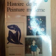 HISTOIRE DE LA PEINTURE MODERNE de HERBERT READ, 1960 - Carte Istoria artei
