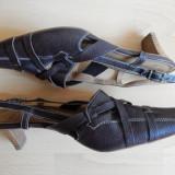 Pantofi / sandale Hogl Softline, piele naturala; marime 40.5; impecabili, ca noi