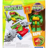 Jucarie Mega Bloks Teenage Mutant Ninja Turtles Half Shell Heroes Raph Skateboard