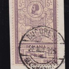 ROMANIA 1903, LP 56, EFIGII VALOAREA DE 5L, STAMPILATA - Timbre Romania