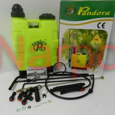 Pompa de stropit manuala 12L Pandora - Pulverizator, De spate, 11-20, 3.1-5