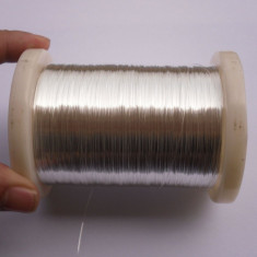 Sârm? de argint 99, 999% de 0.20mm - 1 metru - Accesoriu tigara electronica