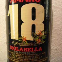 Amaro 18 isolabella, italy, cl. 98, gr 30 ani 1960 - Lichior