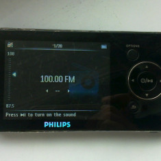 MP3 PHILIPS GOGEAR 4 GB - Mp4 playere Philips, Negru