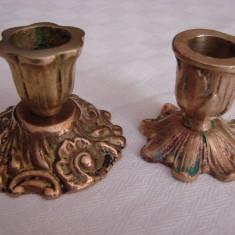Frumoase doua sfesnice din bronz