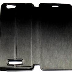 Husa Protectie Toc Flip Cover Allview V2 Viper X + ( Plus ), Negru, Textil