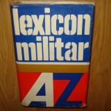 LEXICON MILITAR - EDITURA MILITARA ANUL 1980