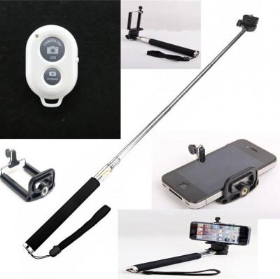 Selfie Stick cu telecomanda Bluetooth foto
