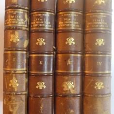 TRAITE DES PRIVILEGES & HYPOTHEQUES. LIVRE III, TITRES XVIII ET XIX DU CODE CIVIL par L. GUILLOUARD, TOME I-IV, PARIS 1897