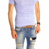 Tricou tip ZARA - tricou barbati - tricou slim fit - tricou fashion - 6521P7, Marime: M/L, L/XL, Culoare: Din imagine, Maneca scurta