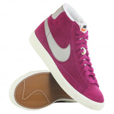 Bascheti originali NIKE BLAZER MID - Ghete dama Nike, Culoare: Din imagine, Marime: 38, Piele naturala