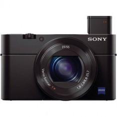Aparat foto digital Sony DCS-RX100, ecran 3 inch, 20.2 MP, zoom 3.6x, negru