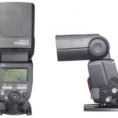 Yongnuo YN660 Blitz wireless cu master controller radio incorporat - Blitz dedicat