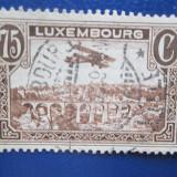 TIMBRE LUXEMBURG STAMPILAT
