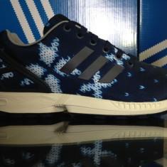 Adidasi originali ADIDAS ZX FLUX - Adidasi barbati, Marime: 40, 44, 44 2/3, Culoare: Albastru, Din imagine