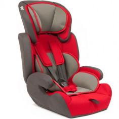 Scaun Auto Safe Rider 9 - 36 kg Rosu-Gri - Scaun auto copii grupa 1-2-3 (9-36 kg) Juju, 1-2-3 (9-36 kg), Isofix