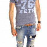 Tricou tip ZARA - tricou barbati - tricou slim fit - tricou fashion - 6530