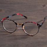 Ochelari dama lentila clara RETRO material plastic design floral + toc